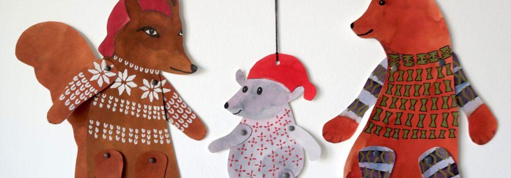 Jul i Grønnegade - sprællefigurer