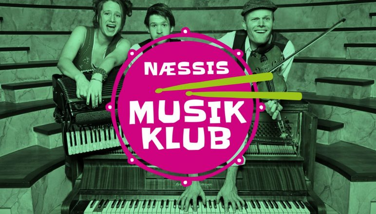 Næssis Musikklub 1819 logo stort